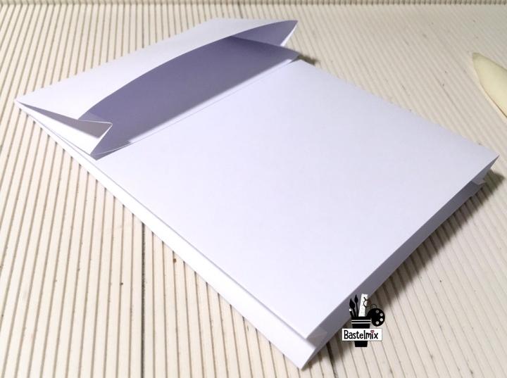 Papiertüte basteln aus einem Blatt
