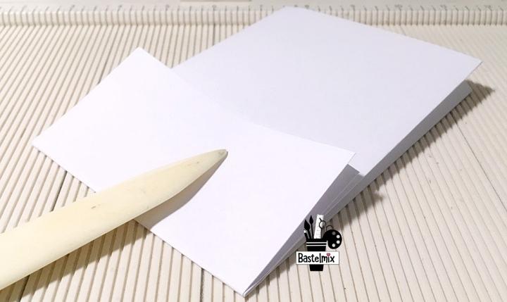 Papiertüte basteln - mit falten - Anleitung