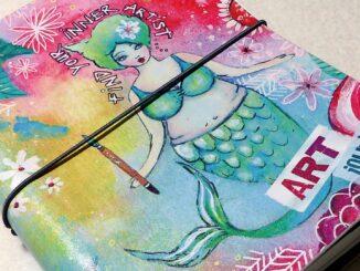 Studio Light Art Journal als Ringbuch.
