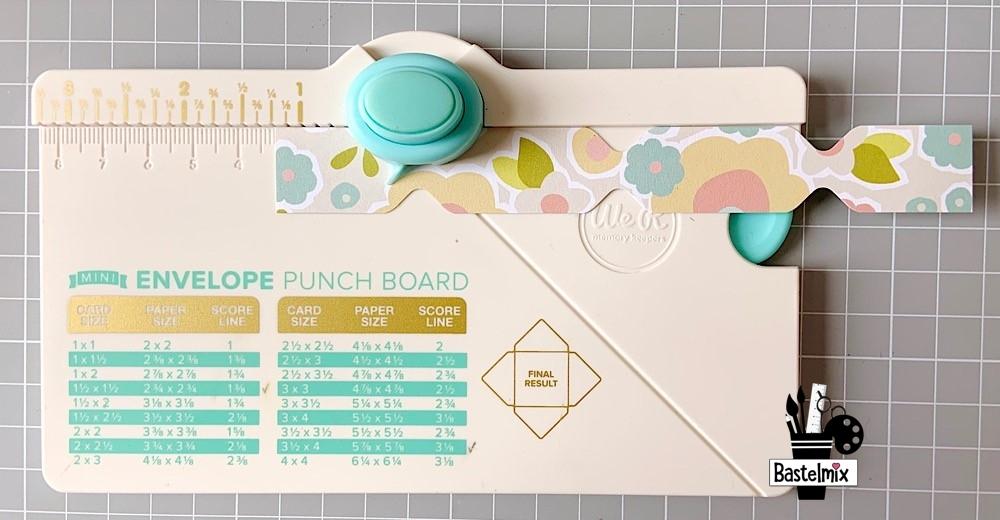 Papier stanzen Envelope PunchBoard EPB