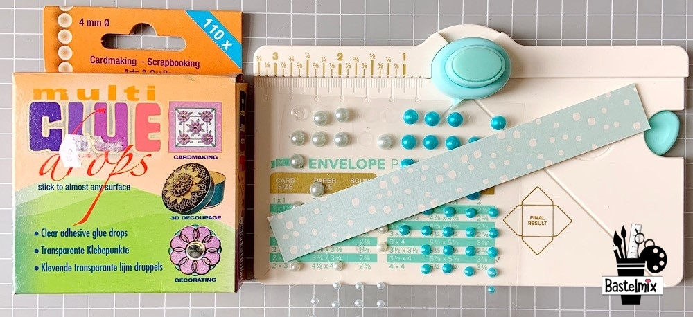 Glue Dots, Mini Envelope Punch Board