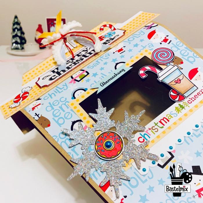 Kaffeebecher-Geschenkbox mit Fenster als kreatives Geschenk für Kaffeeliebhaber