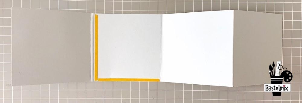 Mini Album selber basteln - einfache Anleitung