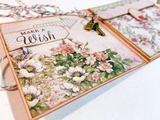 Mini Geschenkbuch basteln, Anleitung