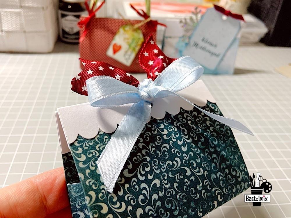 Geschenktasche aus Papier für Mini Distress Ink