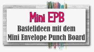 Mini Envelope Punch Board Bastelideen