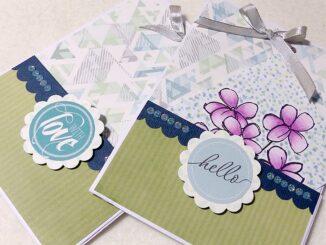 Anleitung Papiertüte basteln aus einem Blatt A4