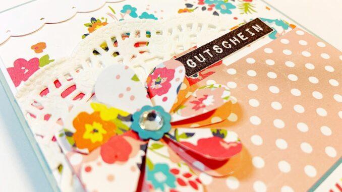 Geschenkkarte Verpackung für Glückwunschkarten