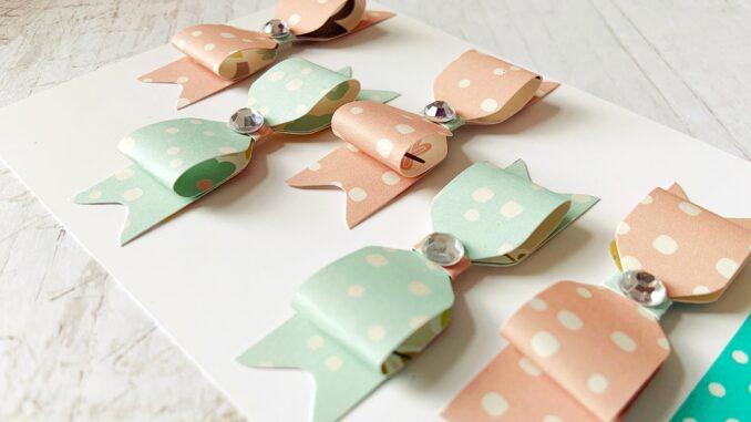 Schleifen aus Papier basteln mit dem Envelope Punch Borad Mini