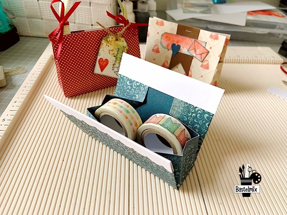 Washi Tape Verpackung Anleitung
