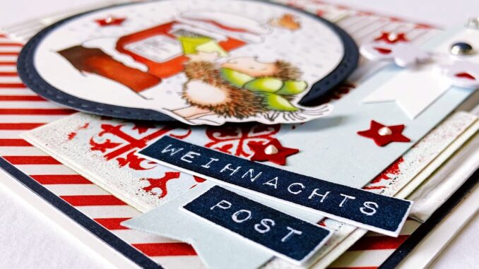Kartenkunst Stempel Weihnachten