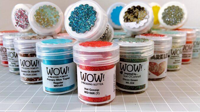 WOW Embossingpulver Farben